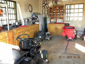 Left Side of Workshop