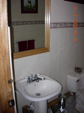 Half bath potrerillos arriba villa de los suenos for Seks in the bathroom